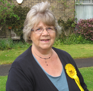 Sue Hatton, District Councillor for Hassocks