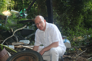 Robert Egglestone at Fly-Tipping Site
