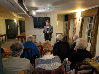 Stephen Lloyd MP at East Grinstead event