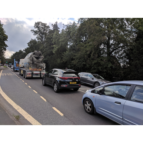 Traffic in East Grinstead