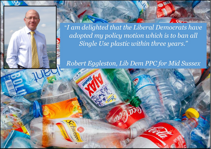 Robert Eggleston & Single Use Plastics Motion