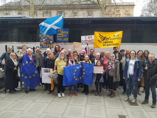 Lib Dem Campaigners in March 2019