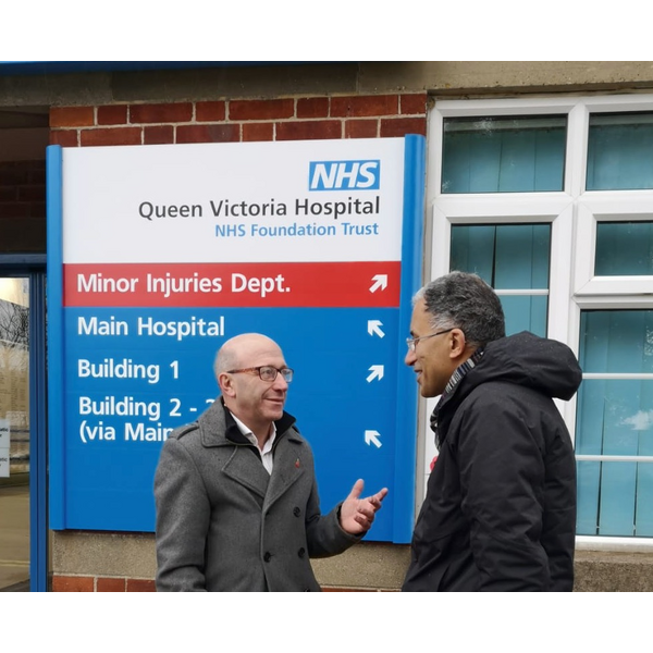 Robert - Queen Victoria Hospital, East Grinstead