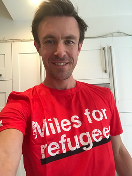 Benedict Dempsey: Miles for Refugees