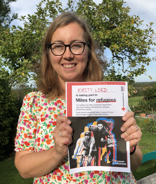 Kirsty Lord: Miles for Refugees